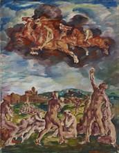 The Horsemen of the Apocalypse, 1917. Artist: Deusser, August (1870-1942)