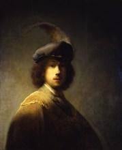 Self-Portrait, Aged 23, 1629. Artist: Rembrandt van Rhijn (1606-1669)