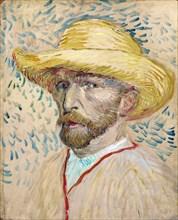 Self-portrait, 1887. Artist: Gogh, Vincent, van (1853-1890)