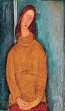 Portrait of Jeanne Hébuterne, 1919. Artist: Modigliani, Amedeo (1884-1920)
