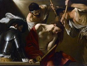 Christ Crowned with Thorns, 1603-1604. Artist: Caravaggio, Michelangelo (1571-1610)