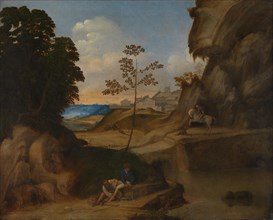 The Sunset (Il Tramonto), 1506-1510. Artist: Giorgione (1476-1510)