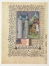 The Belles Heures of Jean de France, Duc de Berry, 1412-1416. Artist: Limbourg brothers (active 1385-1416)