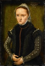 Self-Portrait, 1548. Artist: Hemessen, Catharina, van (1527/28-after 1580)