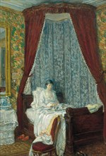 The French Breakfast, 1910. Artist: Hassam, Childe (1859-1935)