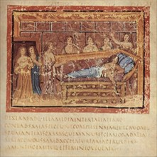 The Death of Dido, ca 400. Artist: Master of the Vatican Vergil (active ca 400)