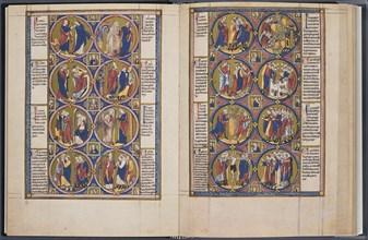 The Creation. Bible moralisée (Codex Vindobonensis 2554), ca 1250. Artist: Anonymous