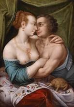 Elegant Loving Couple, ca. 1600. Artist: Master of Prague (active c. 1600)