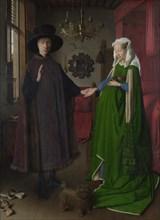 The Arnolfini Portrait, 1434. Artist: Eyck, Jan van (1390-1441)