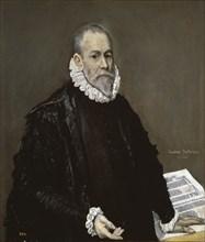 Portrait of a Physician, 1582-1585. Artist: El Greco, Dominico (1541-1614)