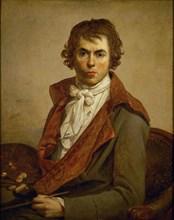 Self-Portrait, 1794. Artist: David, Jacques Louis (1748-1825)