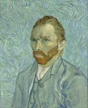 Self-Portrait, 1889. Artist: Gogh, Vincent, van (1853-1890)