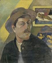 Self-Portrait, 1893-1894. Artist: Gauguin, Paul Eugéne Henri (1848-1903)