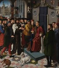 The Judgment of Cambyses (left panel), 1498. Artist: David, Gerard (ca. 1460-1523)