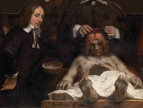 The Anatomy Lesson of Dr. Jan Deijman, 1656. Artist: Rembrandt van Rhijn (1606-1669)