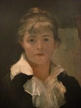 Self-Portrait (Detail). Artist: Bashkirtseva, Maria Konstantinovna (1860-1884)