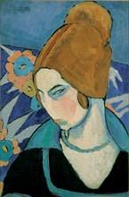 Self-Portrait. Artist: Hébuterne, Jeanne (1898-1920)
