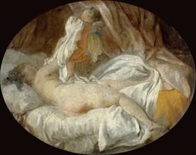 La Chemise enlevée (The Shirt Removed). Artist: Fragonard, Jean Honoré (1732-1806)