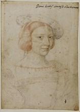 Beatrix Pacheco d'Ascalana, Comtesse d'Entremont. Artist: Clouet, Jean (c. 1485-1541)