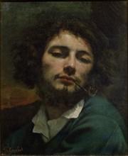 Self-Portrait. Artist: Courbet, Gustave (1819-1877)