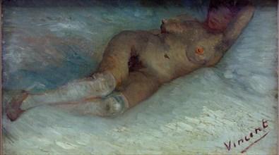 Recumbent nude. Artist: Gogh, Vincent, van (1853-1890)