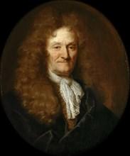 Portrait of Jean de La Fontaine (1621-1695). Artist: Largillière, Nicolas, de (1656-1746)
