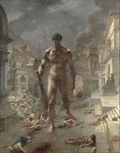 Fléau! (Scourge!). Artist: Danger, Henri-Camille (1857-1937)