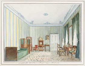 Bedroom in a Country Dacha. Artist: Anonymous