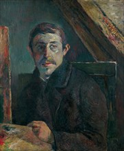Self-Portrait. Artist: Gauguin, Paul Eugéne Henri (1848-1903)