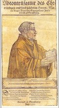Martin Bucer (1491-1551). Artist: Anonymous