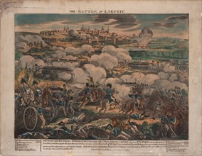 The Battle of Leipzig. Artist: Anonymous