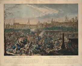 The Battle of the Nations. Artist: Rugendas, Johann Lorenz, the Younger (1775-1826)