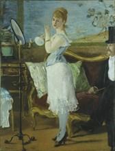 Nana. Artist: Manet, Édouard (1832-1883)