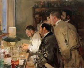 The Research. Artist: Sorolla y Bastida, Joaquín (1863-1923)
