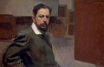 Self-Portrait. Artist: Sorolla y Bastida, Joaquín (1863-1923)
