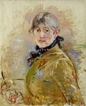 Self-Portrait. Artist: Morisot, Berthe (1841-1895)