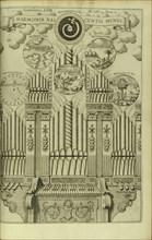 The Harmony of the Birth of the World (Harmonia Nascentis Mundi) from Musurgia Universalis. Artist: Kircher, Athanasius (1602-1680)