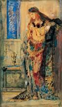 The Toilet. Artist: Moreau, Gustave (1826-1898)