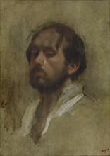 Self-Portrait. Artist: Degas, Edgar (1834-1917)