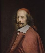 Portrait of Cardinal Mazarin, 1661. Artist: Mignard, Pierre (1612-1695)