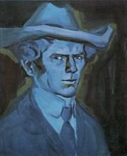 Self-Portrait, 1909. Artist: Kubista, Bohumil (1884-1918)