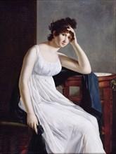 Self-Portrait, 1800s. Artist: Mayer, Constance (1775-1821)