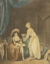 La comparaison. Artist: Janinet, Jean-François (1752-1814)