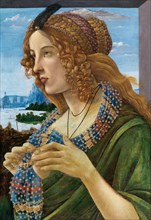 Allegorical Portrait of a Woman (Simonetta Vespucci), 1480-1490