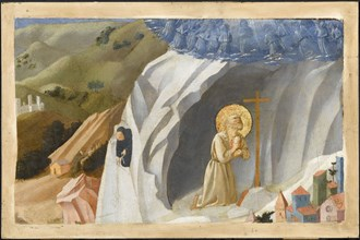 Saint Benedict Tempted in the Wilderness, 1430. Artist: Angelico, Fra Giovanni, da Fiesole (ca. 1400-1455)