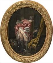 The Indiscreet Eye, 1742. Artist: Boucher, François (1703-1770)
