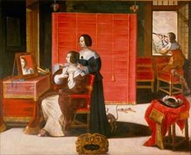 La vue, after 1635. Artist: Bosse, Abraham (1602-1676)