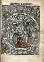 Margarita Philosophica. Title page, 1504. Artist: Reisch, Gregor (1467-1525)