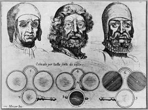 Optics. From: L'Arte di restituire a Roma tralasciate Navigazione..., 1685. Artist: Meijer (Meyer), Cornelis Jansz. (1629-1701)