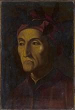 Portrait of Dante Alighieri (1265-1321), 16th century. Artist: Anonymous